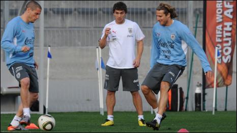 Tim Uruguay berpeluang untuk menjadi juara Piala Dunia untuk kali ketiga