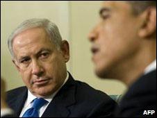 Benjamín Netanyahu y Barack Obama