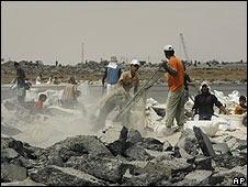 Reconstrucción en Gaza