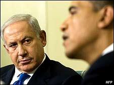 Binyamin Netanyahu y Barak Obama