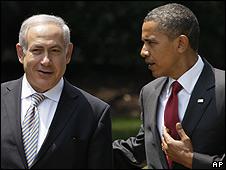 Benjamín Netanyahu y Barack Obama en la Casa Blanca.