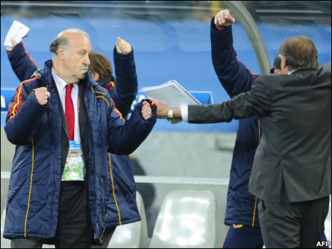 مدرب إسبانيا:اللاعبون كانوا رائعين ويجب علينا الفوز بكأس العالم