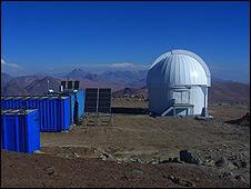 Telescopio miniTAO. (Foto: cortesía de la Comisión Nacional de Investigación Científica y Tecnológica de Chile)