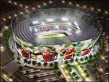 Estadio de Qatar.
