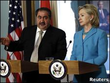 هوشيار زيباري قل إن واشنطن تشجع تسريع جهود تشكيل الحكومة العراقية
