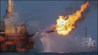 Dàn khoan khí gas ngoài khơi (ảnh chỉ có tính minh họa)