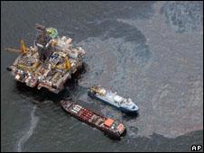 Derrame en el Golfo