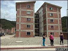 Edificios para familias pobres.