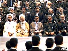 احمدی نژاد - سپاه