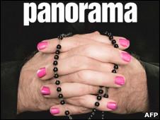 Portada de la revista italiana Panorama