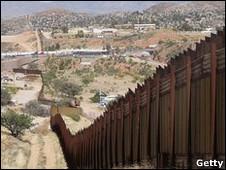 Cerca entre México y Estados Unidos