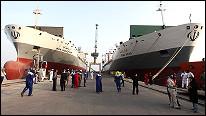 تصویری از کشتی های باری ایران