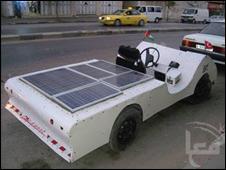 Auto solar palestino