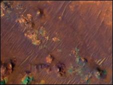 نیلی فوسا در مریخ