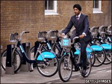 Еще до старта велосипедного проекта в нем зарегистрировалось свыше 11 тысяч человек