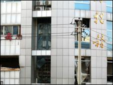 中国湖南省长沙市一税务局大楼7月30日下午发生爆炸(中新社图片, 30/07/2010)