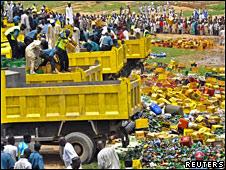 Basurero en Nigeria