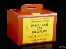 Órgano para trasplante
