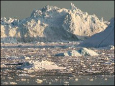 Lapisan es Greenland