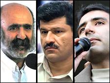مجید توکلی، بهمن احمدی امویی، کیوان صمیمی