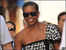 Portada de revista con Michelle Obama