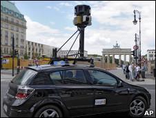 تصویری از خودروی گوگل