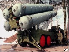 موشک ضد هوایی اس 300