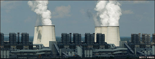 Estación eléctrica en Alemania