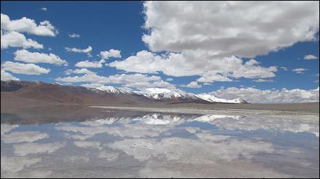 Lago Diamante (Cortesia María Eugenia Farías)
