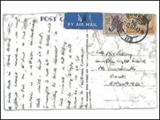 Reprodução do cartão postal
