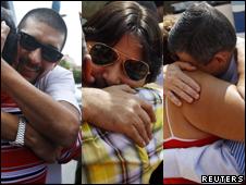 Disidentes cubanos llegan a España