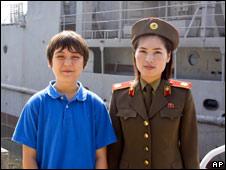 乔纳森和朝鲜女兵