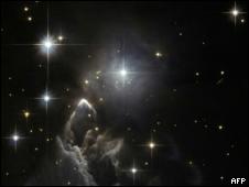 Estrellas en una imagen captada por la Nasa. Foto de archivo.