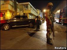 Soldado en un incidente vinculado con el narcotráfico en México (Foto: archivo)