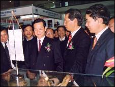 Thủ tướng Nguyễn Tấn Dũng thăm Vinashin
