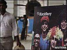 Blackberry en India