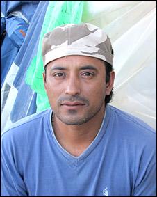 Omar Reygadas, hijo de uno de los mineros atrapados