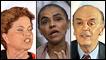 Rousseff, Silva y Serra, candidatos a la presidencia