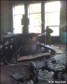 Последствия нападения на баксанскую ГЭС в Кабардино-Балкарии