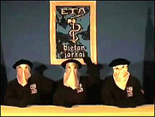 Grupo separatista ETA