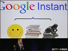 Marissa Mayer apresenta o Google Instant em São Francisco
