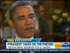 Obama criticou iniciativa de queimar o Alcorão