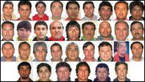 Mineros chilenos atrapados