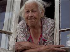 Mujer pensionada