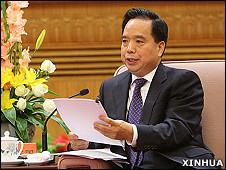 中国全国人大常委会副委员长李建国(新华社资料图片)