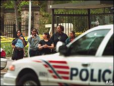 Полицейская машина в Вашингтоне