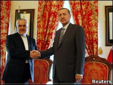 اردوغان و رحیمی