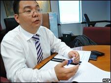 中国经济观察网前副总编辑张宏在美国华盛顿接受采访(16/09/2010)