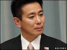 日本新任外交大臣前原城司(17/09/2010)