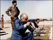 صدام و شاه حسین
